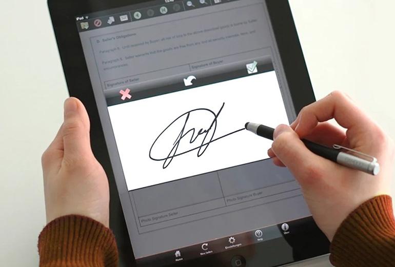 Электронная подпись