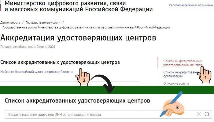 Сайт министерства